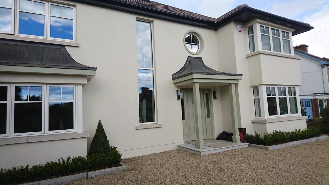 extend  and  renovation   dublin  marr construction traditional style  newcastle design   contemporary  design